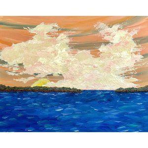 Sailor's Delight, Original Painting, Acrylic 11x14
